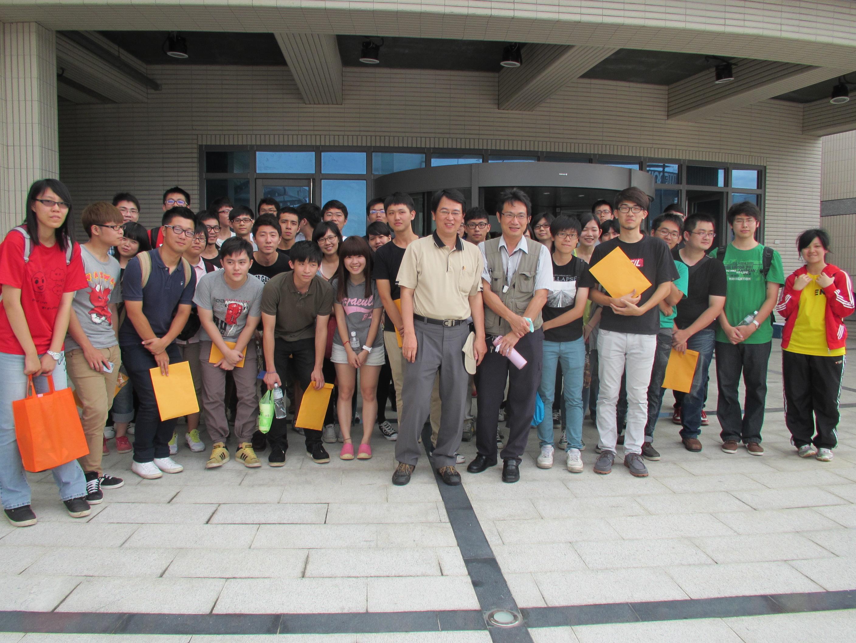 中部科學工業園區管理局污水廠參訪
